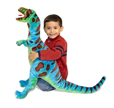 Giant T Rex Dinosaur Stuffed Toy Christmas Holiday Gift for Kids over 2 feet