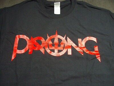 Prong Zero Days Official Front & Back Print T shirt New Size Large