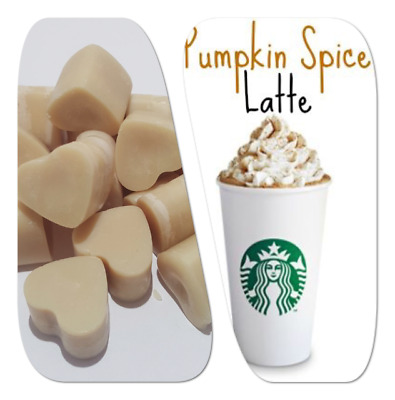 Pumpkin Spice Latte Highly Scented Soy Wax Melts For Oil Burner Free P&p