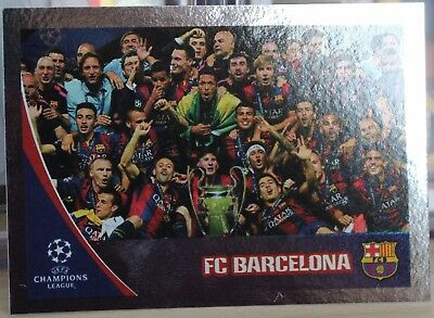 Topps UEFA Champions League 2017/2018 Sticker #601 FC Barcelona