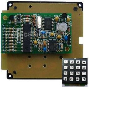 DTMF Encoder kit with 16 key Keypad + TX keying output