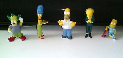 The Simpson figures ~ cake toppers?  ~ job lot