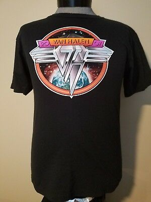 ~Nice!~ 2007 Van Halen Concert  T-Shirt ~ With Cities On Back ~ Large (Med)