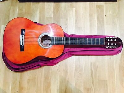 Valencia Classical Guitar with Cover Also Suitable for Beginner Student