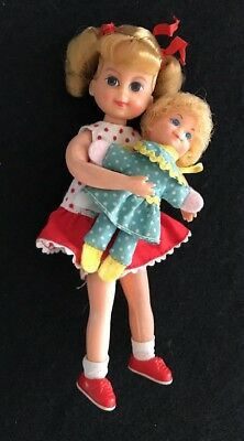 Vintage 1967 Mattel  Buffy & Mrs. Beasley Doll Family Affair