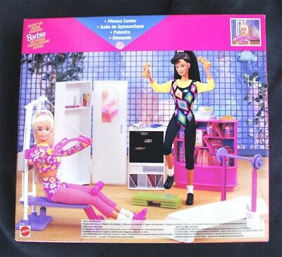 Vintage Barbie Fitness Center (1990). Very Hard To Find, Brand New Old Stock!
