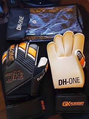 Dh One Academy Roll Finger Goalkeeper Gloves Adult Size 9
