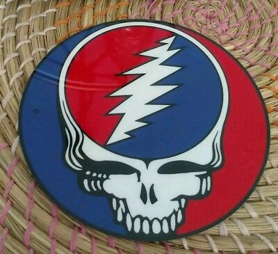 Sticker Vintage Grateful Dead, Steal your face,  blue on right