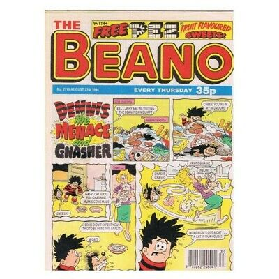 The Beano Comic No.2719 August 27 1994 Dennis MBox2824