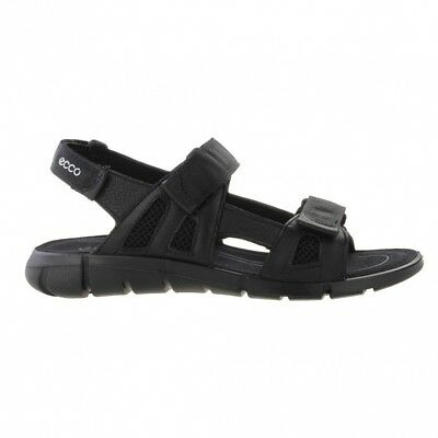 "Ecco Intrinsic Sandal ""Black"""