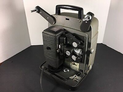 Bell & Howell Autoload 8mm Movie Projector Model 353 Working