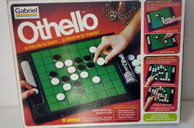 Vintage OTHELLO-classic strategy game-Gabriel Games--1975--New in original box!