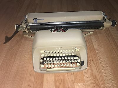 Vintage Royal Typewriter with Large 20' Carriage Working Perfect