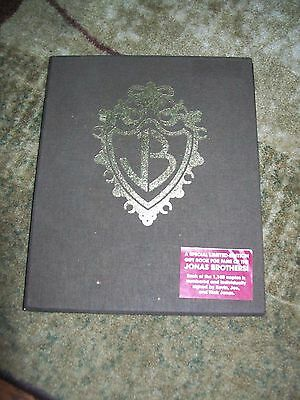 Jonas Brothers Signed Limited Edition Book (Burning Up On Tour)