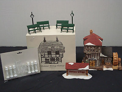 Dept 56 Dickens Buildings & Accessories