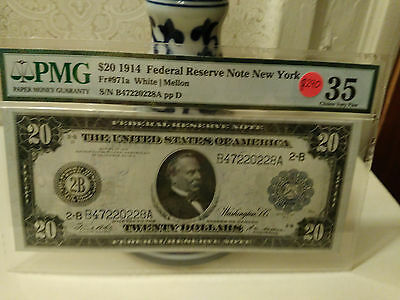 1914 20 federal reserve note-New York
