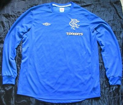 GLASGOW RANGERS home LONG SLEEVE shirt jersey UMBRO 2012-2013  adult SIZE XL