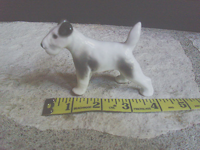 Vintage Pfeffer Miniture TERRIER DOG Porcelain Figurine GERMANY
