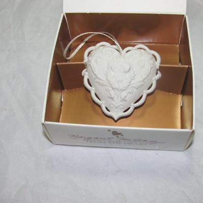 MARGARET FURLONG From the Heart  BISQUE CHRISTMAS ORNAMENT 1997