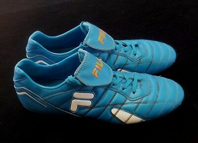 Fila Mens Soccer / Football Boots in Blue - Size US 11 EUR 44.5 UK 10