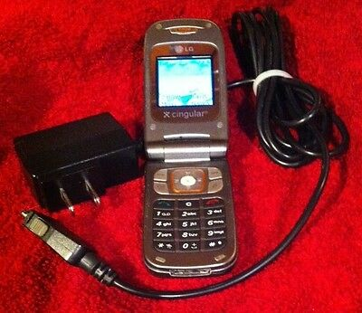 LG  C1500 Cingular Cellphone ATT Network Locked with Battery/ Charger
