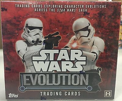 Topps STAR WARS EVOLUTION Factory Sealed Box