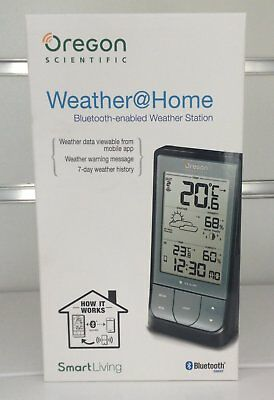 Oregon BAR218HG Weather at Home Bluetooth-Enabled Weather Station New