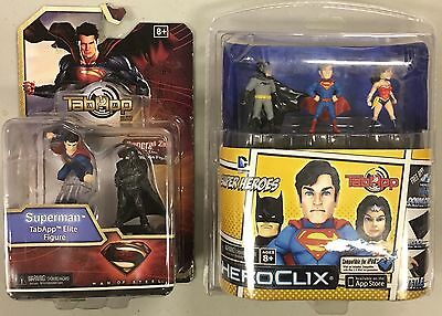 HEROCLIX Tabapp LOT 2x DC Figure sets  Superman, Batman, Wonder Woman NEW SEALED