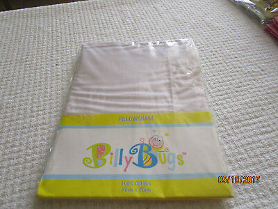 100% Cotton Pillowsham By Billy Bugs 50Cm By 70Cm