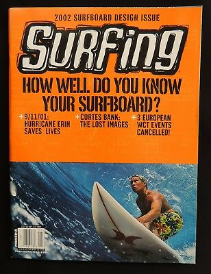 Surfing Magazine **uncirculated** New 2002 July Vol.38 #2 Hawaii Surfer