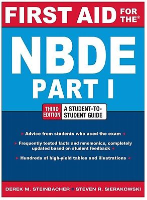 First Aid For NBDE Part 1: Board Exam Review
