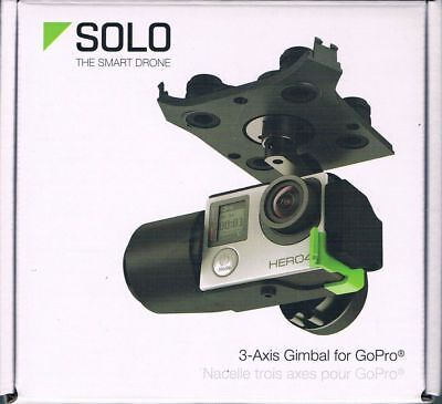 3Dr Solo 3-Axis Gimbal Gb11A For Gopro Hero3+ & Hero4 Brand New Factory Sealed!!
