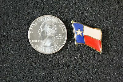 Texas State Flag Lone Star State Hat Lapel Pinback #12110