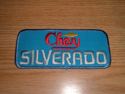 Chevy Silverado  Patch Emblem Badge Embroidered Truck