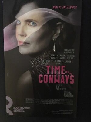 Time & The Conways-McGovern- Window Card-Broadway