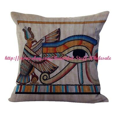 cushion cover patterns Eye of Ra Ancient Egyptian cushion cover