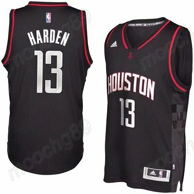New black Houston Rockets #13 James Harden Basketball Jersey Size:S-XXL