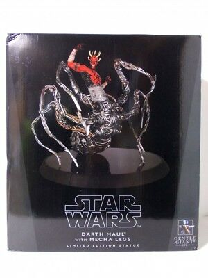 Gentle Giant Darth Maul Spider with Mecha Legs Statue The Clone Wars  LE400