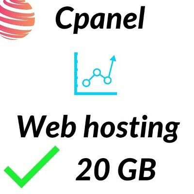 One year of website cPanel SSD Web Hosting - Prepaid 12 months of service