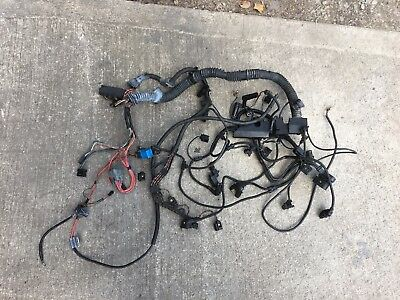 Bmw E46 320D 2002 M47 Engine Wirring Loom Harness Fast Shipping
