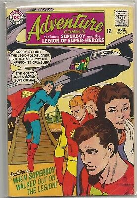 Adventure Comics #371 DC 1968 Silver Age Comic FN+/VF- (1st Chemical King App.)