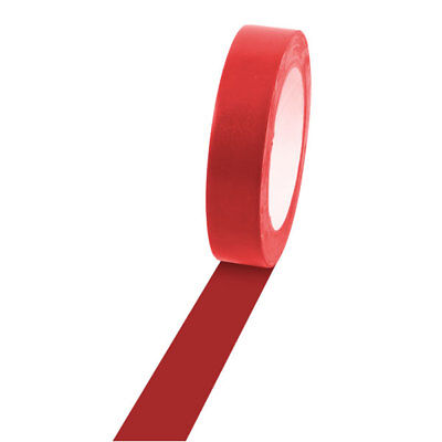 "Champion Sports Vinyl Floor Tape - 1"" x 36yd, Red, For Boundaries & Game Lines"