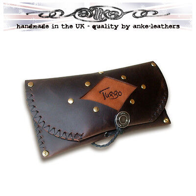 Handmade Leather Tobacco Pouch - CUSTOMISED