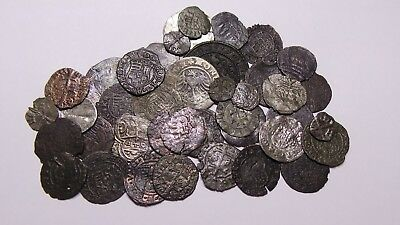 European Medieval Silver and Copper Coin (1235-1535) Huge LOT - 41 pieces