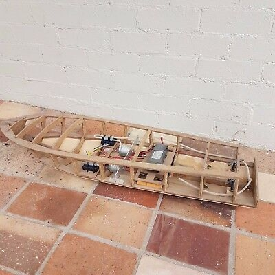 RC Boat, controller and RC parts