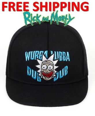 Rick and Morty Cap Rick Dad Adjustable Baseball Cap Rick Cap Adult Hat NEW