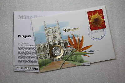 Paraguay 5 Guaranies 1980 Coin Cover A73 Cov513