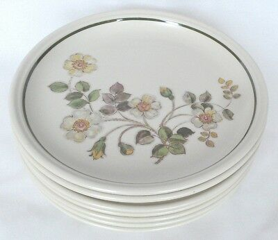 M&S Autumn Leaves Dinner Plates x 6 - Marks and Spencer - 10 1/2 Inch