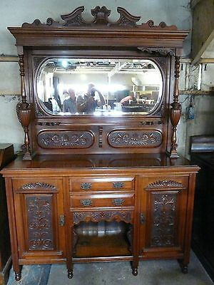 Antique Walnut Sideboard circa 1900