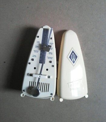 Taktell Wittner Piccolo Vintage Metronome Without Bell. Ivory Made In Germany